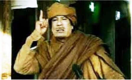 """La profezia di Gheddafi: """"Il Mediterraneo sarà invaso, la scelta è tra me o Al Qaeda. L'Europa tornerà ai tempi del Barbarossa"""" !!"""