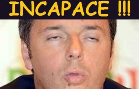 """Volete sapere chi è che ci governa? Basta leggere le motivazioni della sentenza di assoluzione della Corte dei Conti: Matteo Renzi è """"Incapace di comprendere l'illegittimità del suo operato"""" !!!"""