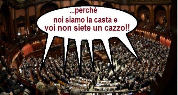 Montecitorio ha deciso: la legge Fornero si applica solo a noi merdacce. Ai vitalizi ed alle pensioni dei Parlamentari non si applica!