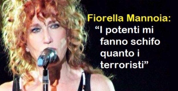 """Due anni fa la Strage di Parigi – Ricordiamo lo sfogo di Fiorella Mannoia: """"I potenti mi fanno schifo quanto i terroristi"""""""