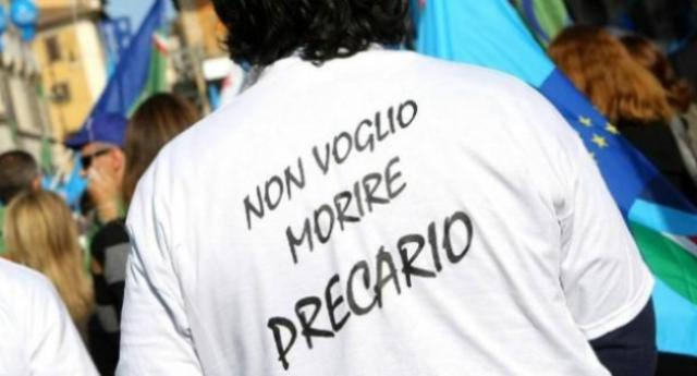 L'apoteosi del precariato: in 2 anni assunta e licenziata 44 volte (oltre a 77 proroghe) Renzi, Poletti & C. ne devono proprio essere fieri!