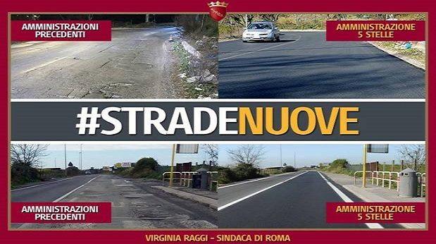 A Roma Virginia Raggi funziona, ma non per i politici… perchè non magnano chiù…!!