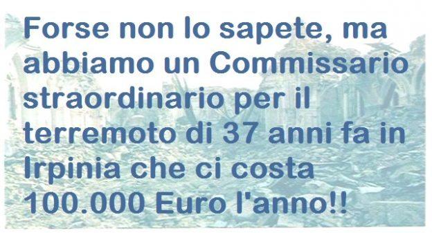 Ecco chi ci ha governato finora… Sibilia (M5S) ne chiedeva l'abolizione ma la maggioranza si  oppose violentemente… A che serve un Commissario straordinario per un terremoto di 37 anni fa, se non a garantire una poltrona d'oro da 100.000 Euro ad uno di loro?