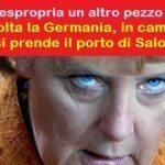 L'Europa espropria un altro pezzo di Grecia. Questa volta la Germania, in cambio degli aiuti, si prende il porto di Salonicco!