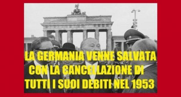 Gli smemorati di Berlino (tutti i debiti che la Germania non ha mai pagato)