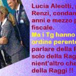Per non dimenticare – Lucia Aleotti, pupilla di Renzi, condannata a 10 anni e mezzo per frode fiscale. Ma i Tg hanno un ordine perentorio: parlare della Raggi, solo della Raggi, nient'altro che della Raggi !!