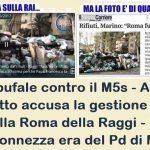 Ancora bufale contro il M5s – A Porta a Porta sotto accusa la gestione dei rifiuti nella Roma della Raggi – Peccato che la monnezza era del Pd di Marino!