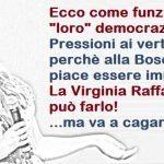 Va in onda lo show di Virginia Raffaele. Nel suo repertorio manca però un personaggio: Maria Elena Boschi. Le è stato vietata l'imitazione. Sì, è censura. Un altro grande esempio di democrazia Renziana…!!!