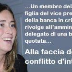 """Maria Elena Boschi ha sempre negato il conflitto di interessi. Ma ora si scopre che """"Nel 2015 chiese a Unicredit di comprare Banca Etruria"""""""