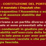 ART.160 – COSTITUZIONE DEL PORTOGALLO: Perdono il mandato i Deputati assenteisti, che cambiano casacca, condannati, razzisti e fascisti!! Da noi in Parlamento ne resterebbero in 3 o 4!