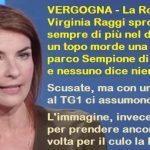 VERGOGNA – La Roma di Virginia Raggi sprofonda sempre di più nel degrado: un topo morde una donna al parco Sempione di MILANO e nessuno dice niente!!!