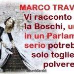 Un pezzo storico – MARCO TRAVAGLIO: Vi racconto chi è la Boschi, una che in un parlamento serio potrebbe solo togliere la polvere !!