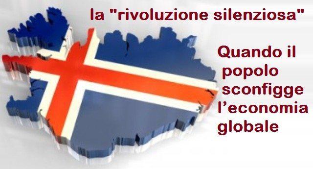 """ISLANDA: la """"rivoluzione silenziosa"""" – Quando il popolo sconfigge l'economia globale!"""
