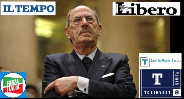 ANGELUCCI, UN EROE ITALIANO: accusato di truffa allo Stato per 163 milioni. Nel 2009 il parlamento respinge la richiesta di arresto. Il processo è misteriosamente fermo e si avvia alla prescrizione. Ha il 99 % di assenze in Parlamento. Nessuno lo caccia a calci in culo.