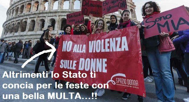 Il governo Pd-Gentiloni-Renzi depenalizza lo Stalking, i colpevoli saranno colpiti con una multa… E quei bastardi già tremano…