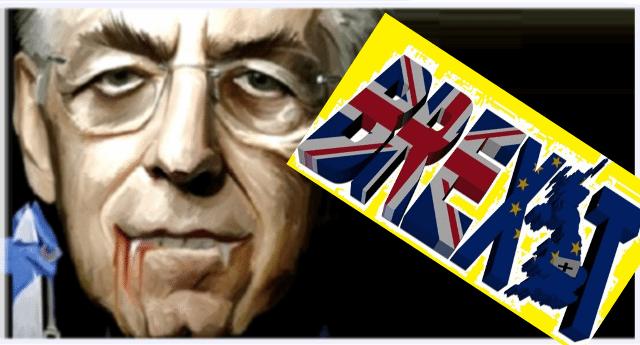"""Effetto Brexit: in Gran Bretagna disoccupazione al 4,6%. Mai così bassa dal 1975 – Per farvi capire come stanno le cose ricordiamo le parole di Mario Monti: """"In Inghilterra troppa democrazia. Per fortuna gli italiani non possono votare""""…! CAROGNE sulla nostra pelle…!!"""