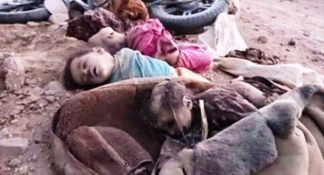 Bambini morti! Vi danno fastidio queste immagini? Eppure li hanno ammazzati le armi che NOI Italiani vendiamo all'Arabia grazie al Ministro Pinotti, a Renzi ed a Gentiloni…!!!
