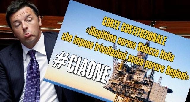 """Trivelle, la Consulta fa CIAONE a RENZI – annullato il decreto del 2015: """"Adottato senza intesa con le Regioni"""""""