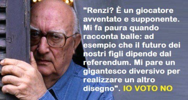 """Camilleri compie 92 anni – Vogliamo ricordare una sua presa di posizione: """"Sono diventato quasi cieco, desidero l'eutanasia, ma al Referendum ci sarò. E voterò NO"""""""