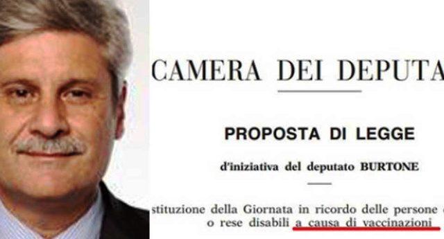"""Per Renzi, Lorenzin & C. i vaccini sono assolutamente sicuri. Chi afferma il contrario è un complottista! Dimenticano però di quando era il Pd a voler istituire una """"Giornata per le vittime dei vaccini"""" …curioso, vero?"""