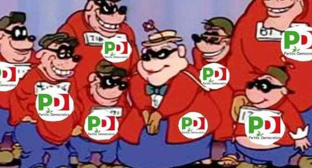 Oggi 15 settembre il Pd ha scritto un'altra vergognosa pagina della storia italiana – Non è bastata nè la crisi, nè la caduta di due governi, nè il vaffanculo generale al referendum del 4 dicembre per impedire che mettessero le mani sulle loro pensione d'oro!