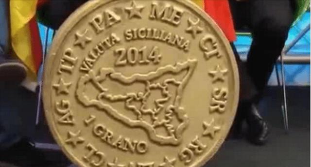 """Ecco """"Il Grano"""", la nuova moneta siciliana che fa paura alle banche."""