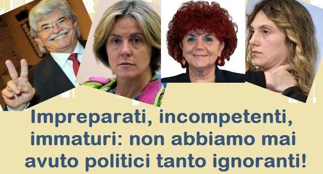 """Fanno ironia idiota su Di Maio ed i 5stelle, ma ecco quello che tutti pensavano solo qualche mese fa: """"Impreparati, incompetenti, immaturi: non abbiamo mai avuto politici tanto ignoranti""""…!"""