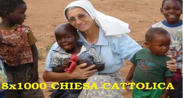 Bella la pubblicità della Chiesa che con l'8×1000 aiuta mezzo mondo. Sveglia, è solo pubblicità: solo l'8% del miliardo che incassano va alle missioni – Tutta la verità sull'8×1000…!