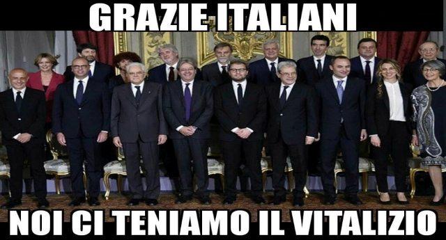 Tanto preoccupati per la sorte dei 13 milioni di poveri in Italia, da non avere neanche il tempo di votare per l'abolizione dei vitalizi… Poverini…