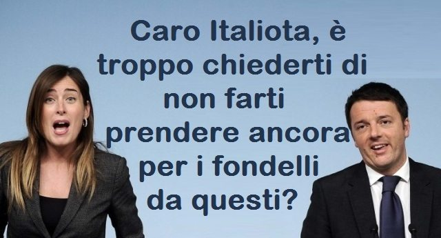 Travaglio distrugge il duo Renzi & Boschi: proprio loro che per le crisi bancarie non hanno mosso un dito, contribuendo ad un crac da 60 miliardi, ora chiedono la testa di Visco. Sarebbe una barzelletta se non fosse uno scandalo!