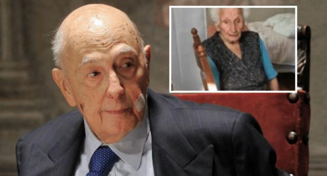 Questa è l'Italia – Nonna Peppina, 95 anni, sfrattata da casa. Nonno Napolitano, 92 anni, torna in politica…