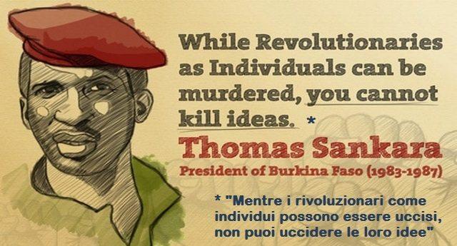 """4 agosto 1983, Thomas Sankara, il """"Che Guevara"""" africano, è il 1º Presidente del Burkina Faso – Thomas Sankara: un nome e una storia che dobbiamo conoscere. Una storia molto scomoda per noi occidentali che abbiamo fatto di tutto per insabbiare."""