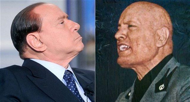 """""""Mussolini? Non era proprio un dittatore"""" …Lo ha dichiarato Berlusconi, quello che non era proprio un evasore fiscale, non era proprio un puttaniere, non era proprio un corruttore, non era proprio un cazzaro…!"""