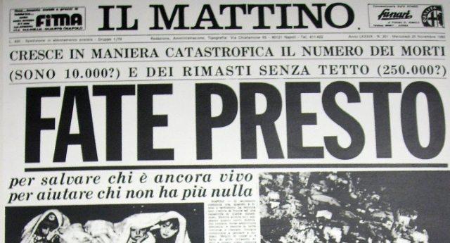 """Fate Presto? In Italia? Ecco la storia di Lucia: """"Io, terremotata dell'Irpinia e i miei 37 Natali da sfollata passati dentro un container"""""""