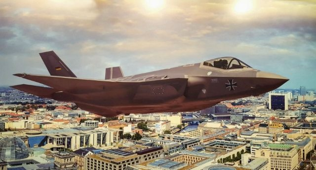 F-35…? Anche la Germania dice NO… Una lezione ai nostri politici disposti a  bruciare 100 milioni (di soldi nostri) pur di scodinzolare intorno al padrone americano