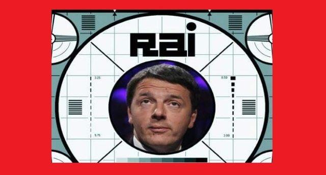 Matteo Renzi vuole finalmente abolire il canone Rai. Non come quel cretino che ce l'ha messo nella bolletta elettrica…