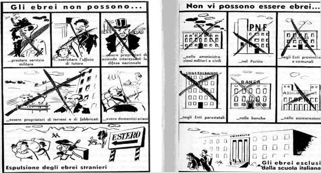 """Salvini: """"Mussolini fece tante cose buone"""" …Caro Matteo, rinfrescati la memoria con le """"tue"""" cose buone… Ecco le leggi razziali…!"""