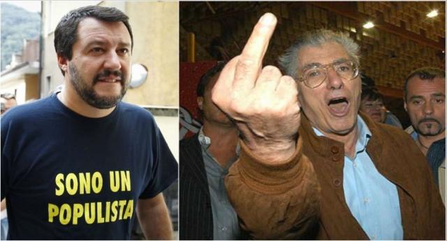 Sveglia Gente. Il nobile gesto di Salvini che ha candidato Bossi in un collegio blindato? Vi ha fregato: Bossi condannato per truffa allo Stato, avrebbe dovuto risarcire gli Italiani col quinto della pensione. Ma ora è Senatore e la sua pensione è IMPIGNORABILE.
