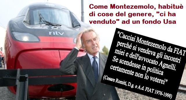 Vergognoso – Italo, Montezemolo e soci guadagnano milioni mentre lo Stato (CIOÈ NOI) si accolla i costi