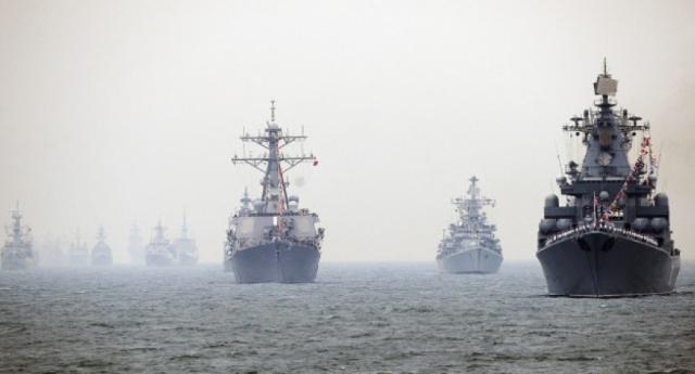 Pechino dà l'ordine che fa tremare il mondo: navi cinesi al fianco dei russi in caso di attacco americano in Siria! – Solo i nostri Tg non ne parlano, perchè non dobbiamo sapere che i politici criminali stanno trascinando a in un'altra guerra!