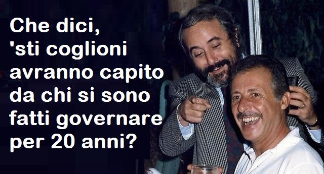 Trattativa Stato-mafia, condanne pesanti. Altri 12 anni al co-fondatore di Forza Italia Dell'Utri- Ma ora i Pm puntano a Berlusconi (Sì, proprio quello che Mattarella ha ricevuto al Quirinale per parlare del futuro del Paese)…!