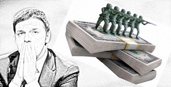 Vogliamo solo ricordarvi che quelli che deridono i Cinquestelle affermando che il Reddito di Cittadinanza è improponibile perchè costa troppo (15 miliardi), sono gli stessi che nel 2017 hanno bruciato 29,2 miliardi di Euro per spese militari!