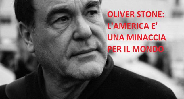 """Quando parlò Oliver Stone: """"Dimenticate l'ISIS, è l'America la vera minaccia per il mondo"""""""