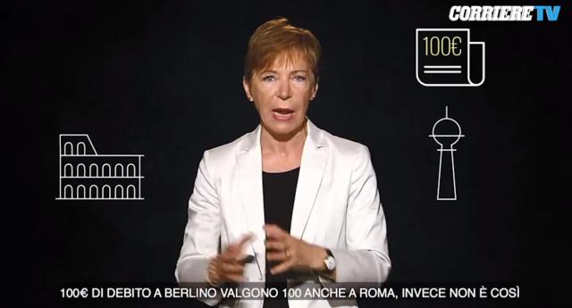 Milena Gabanelli sul Debito Pubblico: un'idea per uscirne vivi e tornare a crescere…!