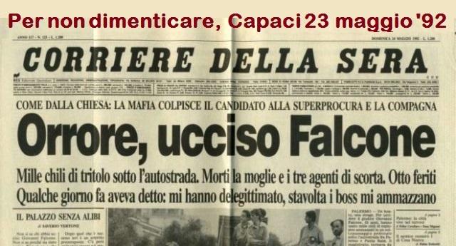 """Per non dimenticare – L'ultima intervista a Giovanni Falcone, lo sfogo: """"Per essere credibili bisogna essere ammazzati""""…!"""