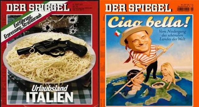Per rinfrescare la memoria ai topi di fogna che scrivono su Der Spiegel: Quando il mondo intero ITALIA COMPRESA si accordò per annullare i debiti di guerra dei crucchi… ma quando uno stato è nazista non ci puoi fare niente, lo è nell'anima!