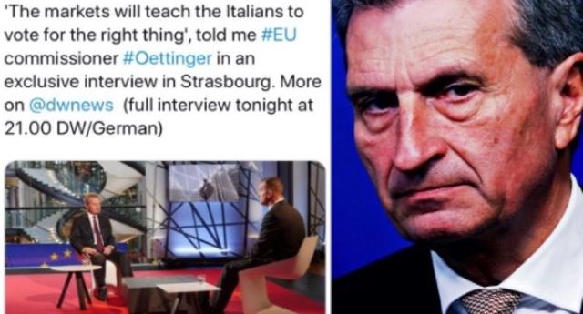 """Marcello Foa denuncia il piano europeo: massacrare l'Italia per annientare Lega e 5 Stelle…"""""""