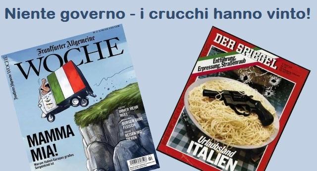"""Mattarella smentisce il Der Spiegel: i mendicanti Italiani hanno detto grazie alla """"carità tedesca"""" – Niente Governo, un grande gesto di sottomissione al Padrone germanico!"""