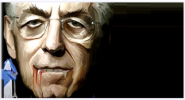 """Agghiacciante dichiarazione di Monti in aula al Senato nei confronti del nuovo Governo: """"attenti o arriva la Troika"""" …solo a me queste parole ricordano tanto, forse troppo, gli avvertimenti dei mafiosi?"""