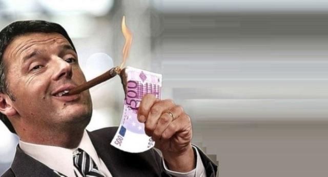 Ricordate la guerra ai furbetti del cartellino, quelli che intascavano a sbafo lo stipendio pubblico ma poi si dedicavano ad altri lavori? Sbaglio o fu dichiarata 2 anni fa dal governo di Renzi? Sì, Renzi, quello che intasca lo stipendio pubblico da senatore, ma poi va fare conferenze a pagamento in giro per il mondo…